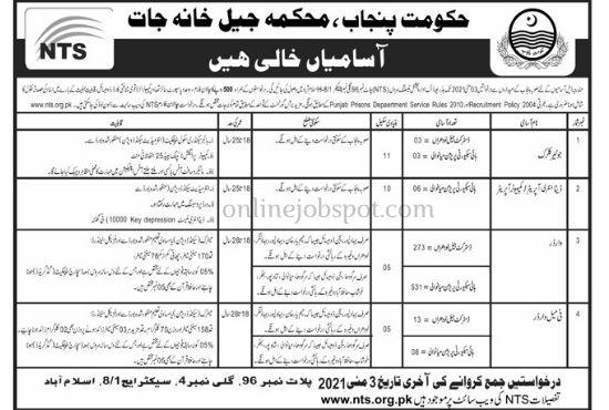 NTS latest  jobs advertisement 2021,  (Nawai waqat) epaper jobs