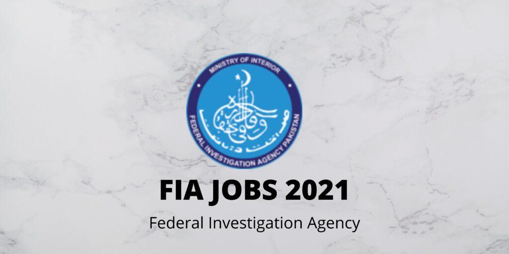 FIA JOBS